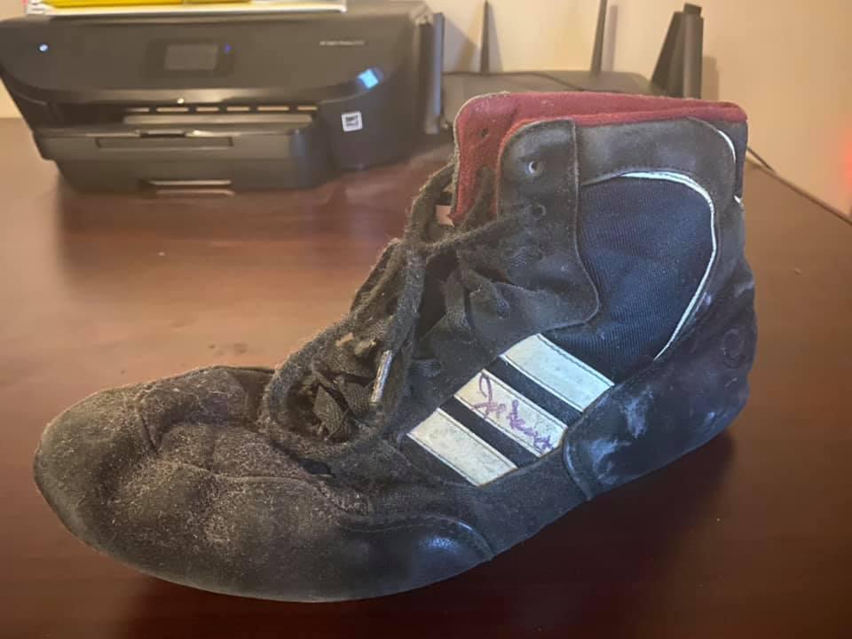 JoeSeaySignedShoes